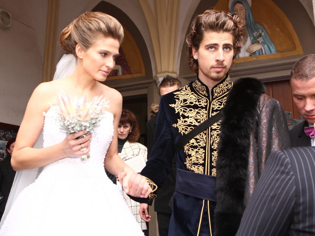 FOTO zo svadby Sagana a exkluzívne fakty: Peter ako ruský ...