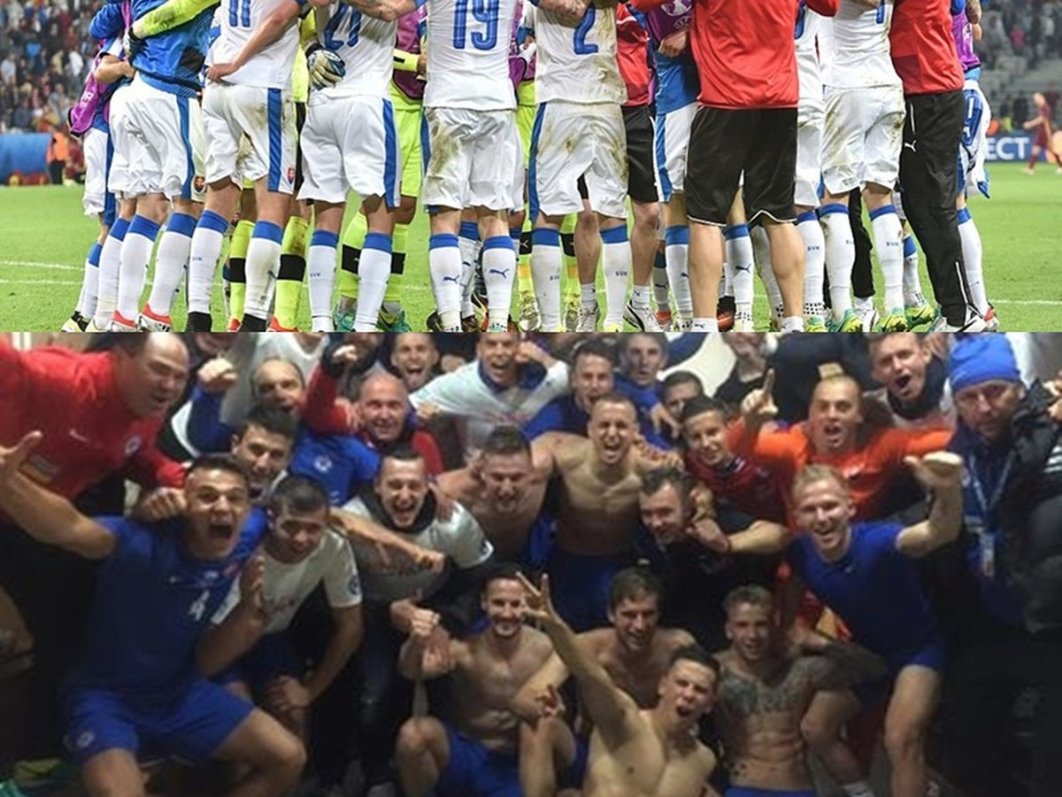 Grande ano de futebol da Eslováquia: Prêmio histórico para o EURO, o processo soberano dos jovens!