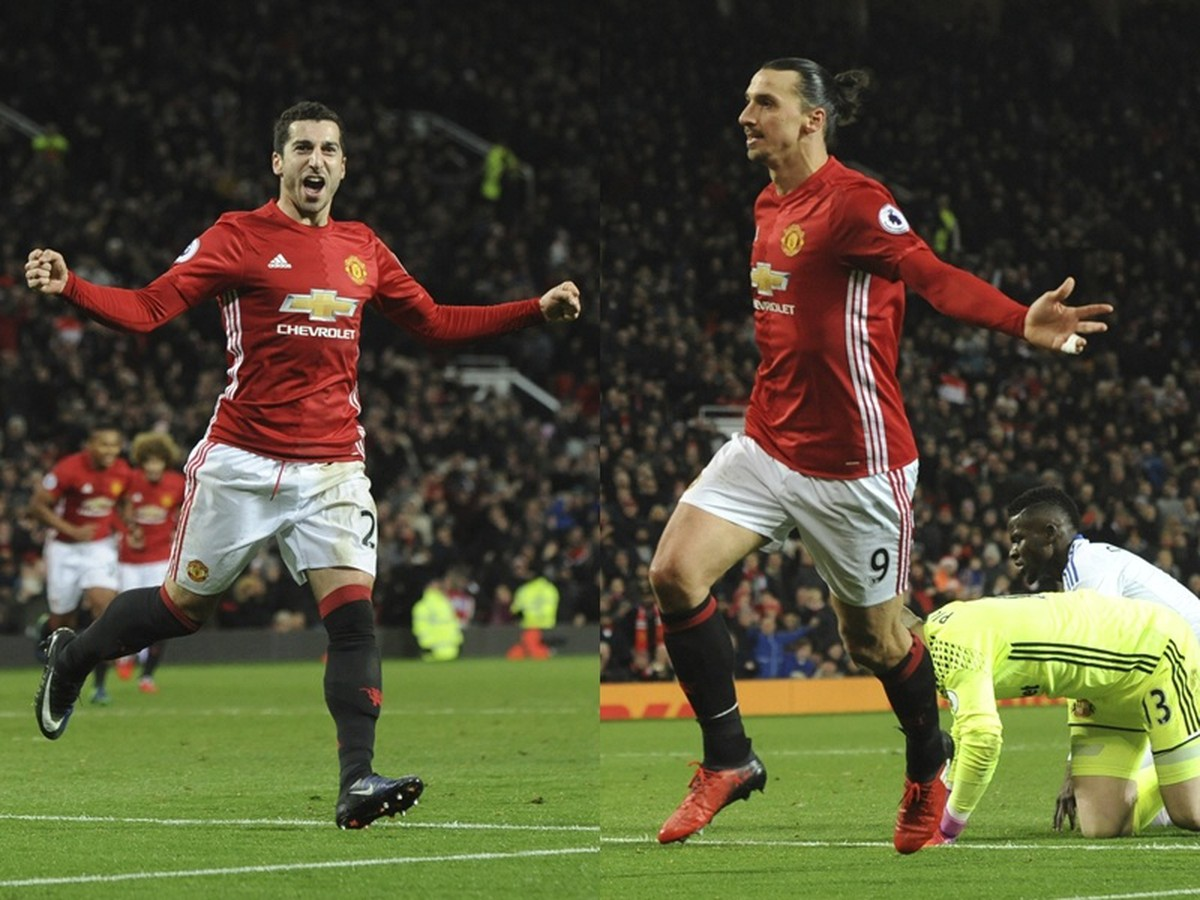 Do objetivo improvável da estrela do United: Em Manchestri, Ibrahimovic também brilha!