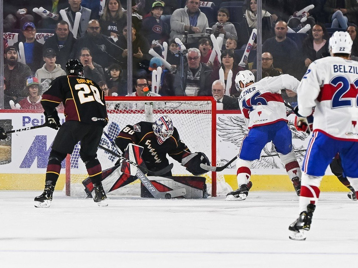 Dane contributed assistance to the Cleveland Monsters victory