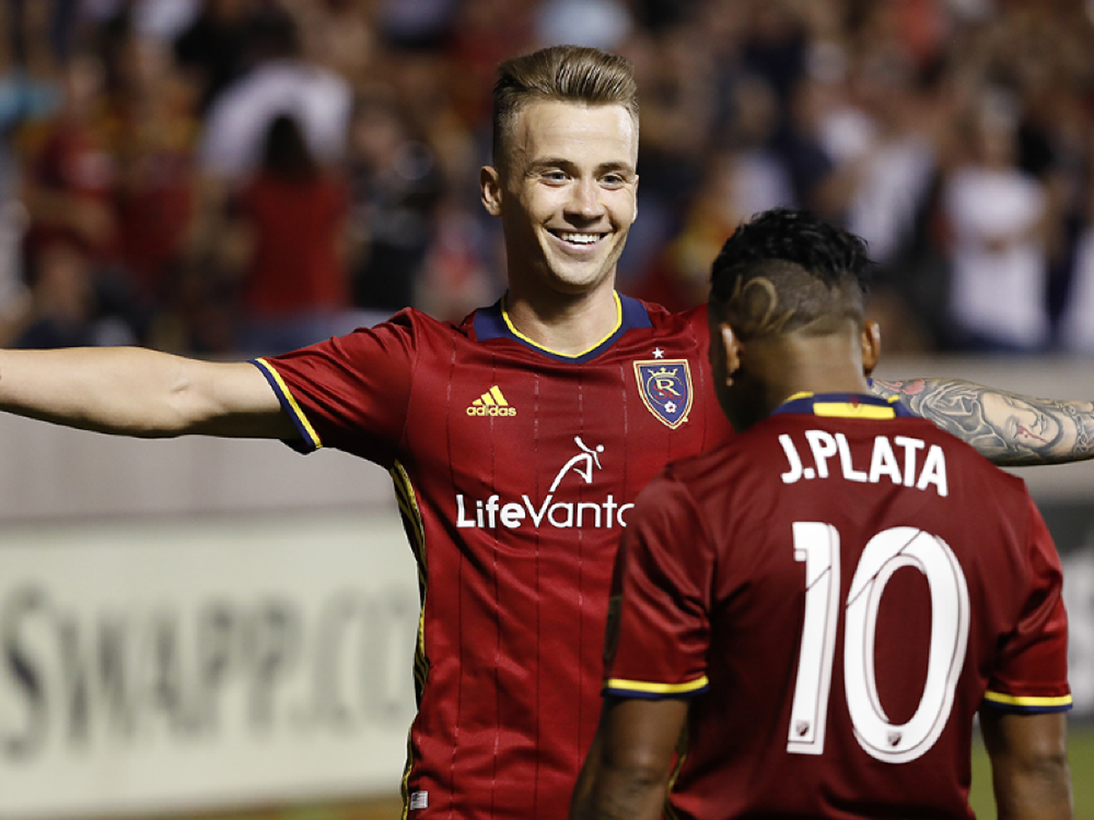 Albert Rusnák z Real Salt Lake