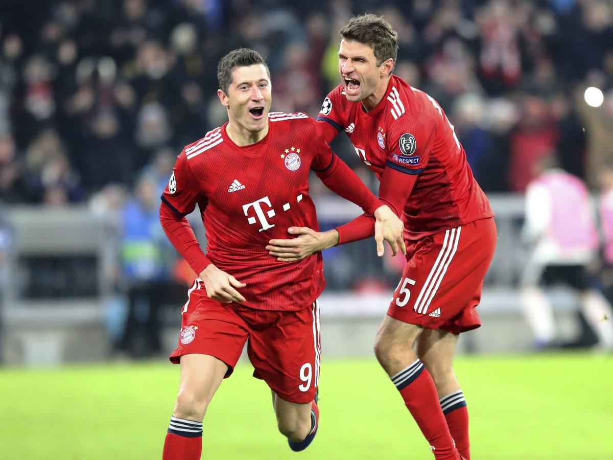 Robert Lewandowski and Thomas Müller go to the gallows