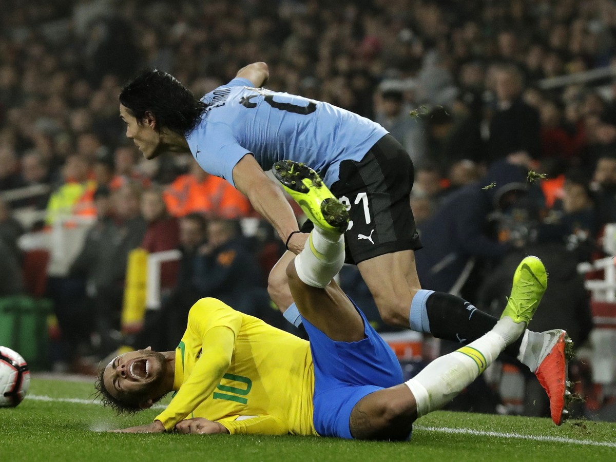 Between Cavanim and Neymarom it was a great save