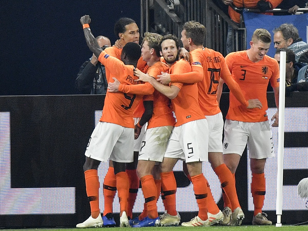 The Netherlands makes a delight for its goal