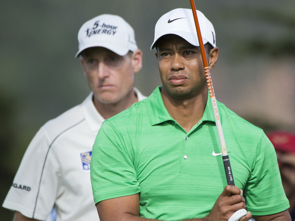Jim Furyk a Tiger Woods
