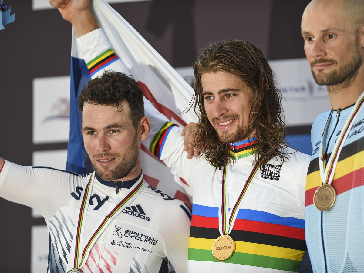 Peter Sagan a Tom Boonen