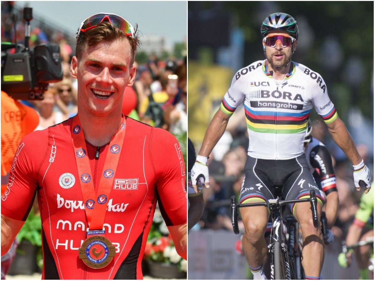 Richard Varga a Peter Sagan