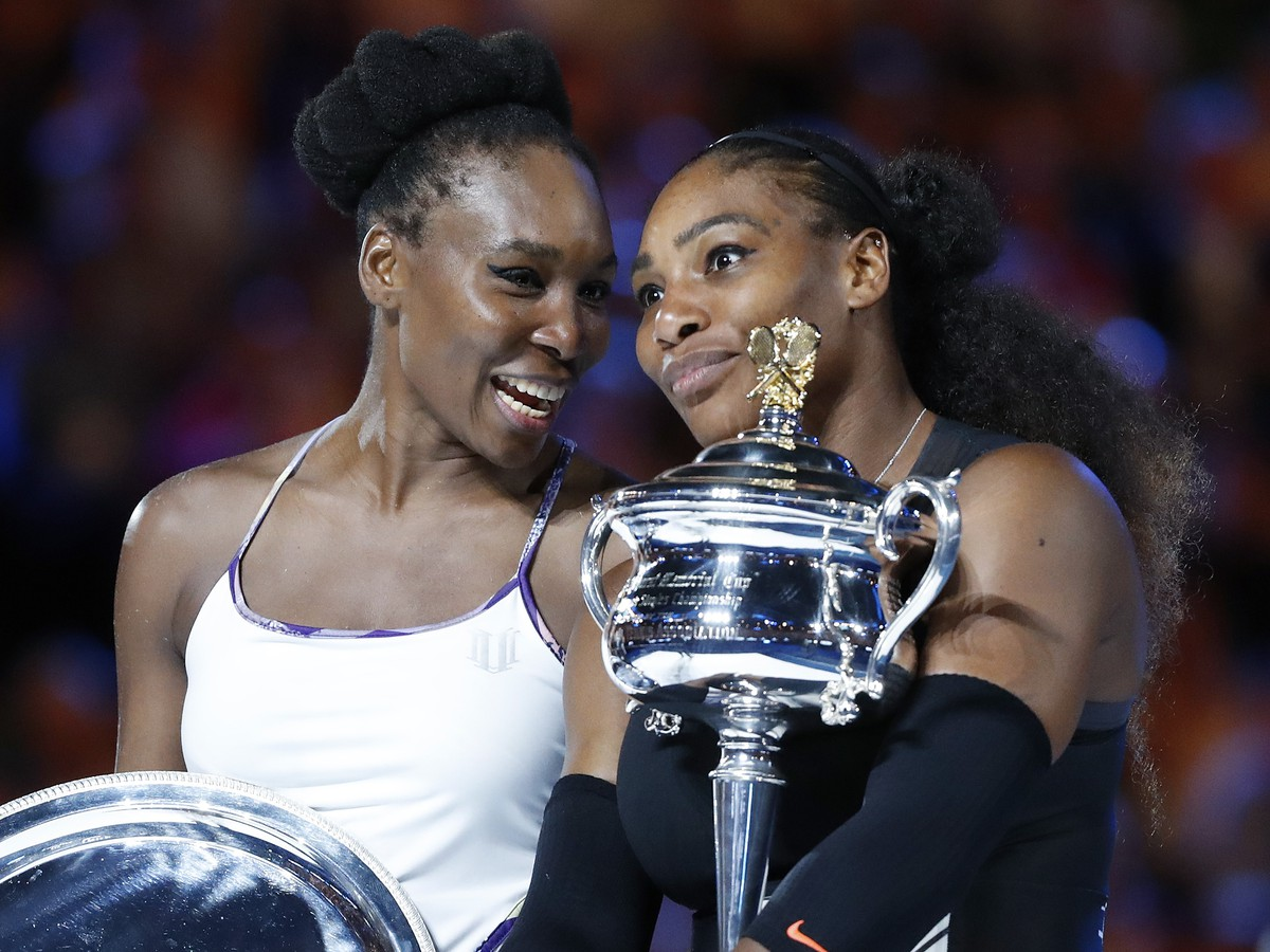 Serena Williamsová a Venus Williamsová