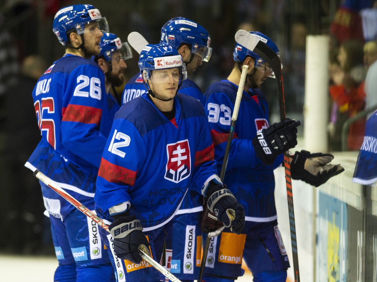 Slowed Slovak players after a loss with Russia