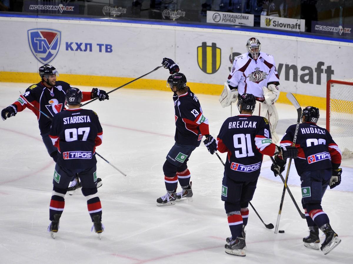 Fantastické ofenzívne divadlo Slovana: Rigu rozstrieľal piatimi gólmi!