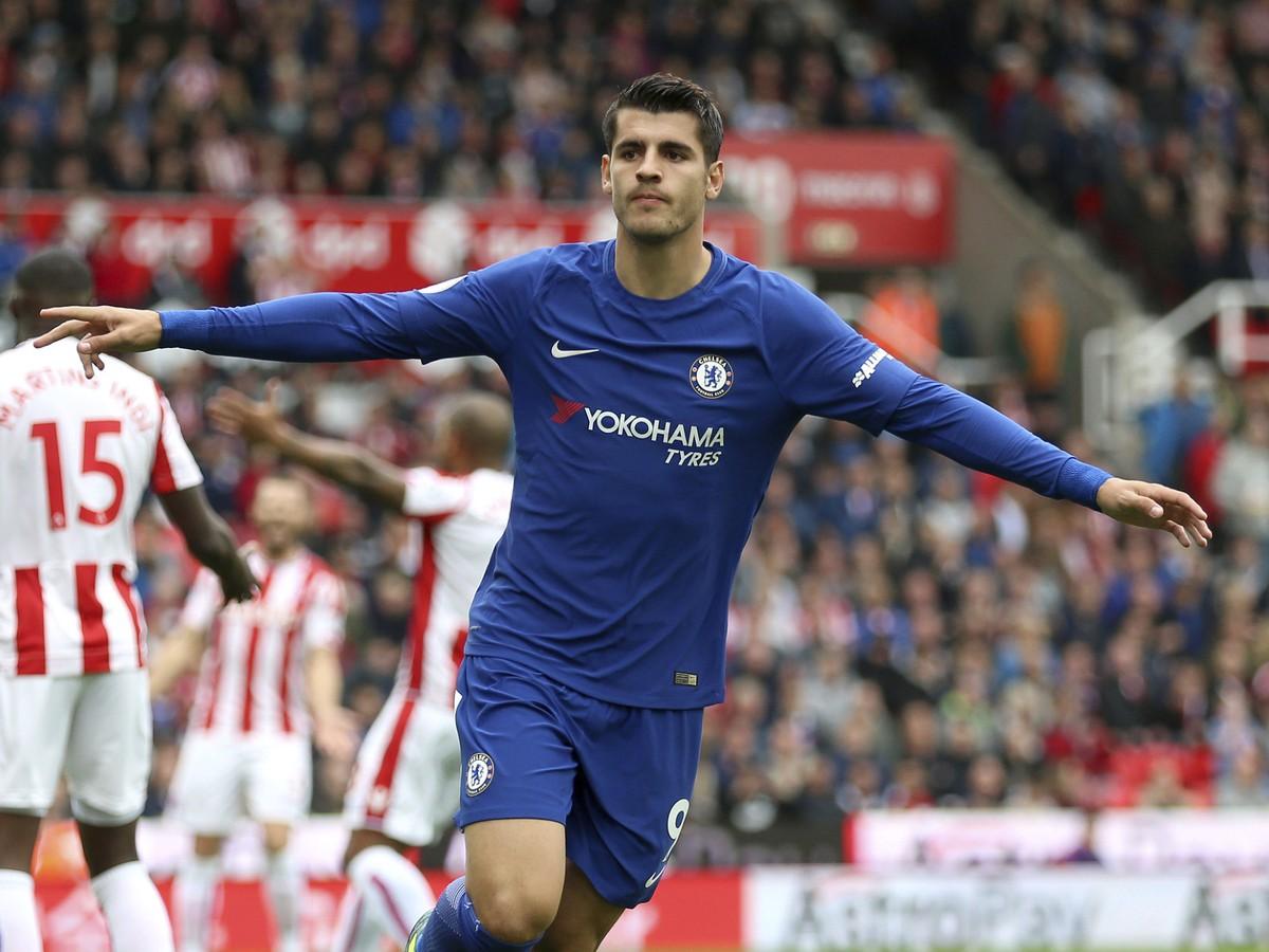 VIDEO Morata sa blysol hetrikom, gólový uragán Manchestru City, raduje sa aj Liverpool