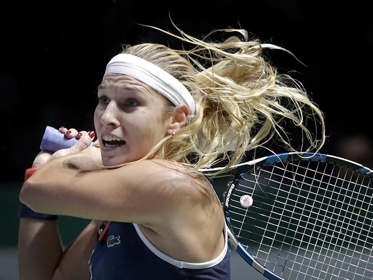 ONLINE z Turnaja majsteriek: Dominika Cibulková - Madison Keysová