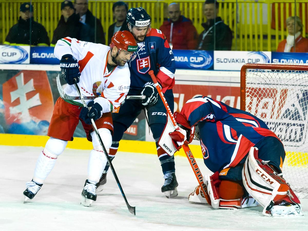 Slovensko ovládlo Euro Ice Hockey Challenge: Olympijský výber zdolal Slovinsko piatimi gólmi