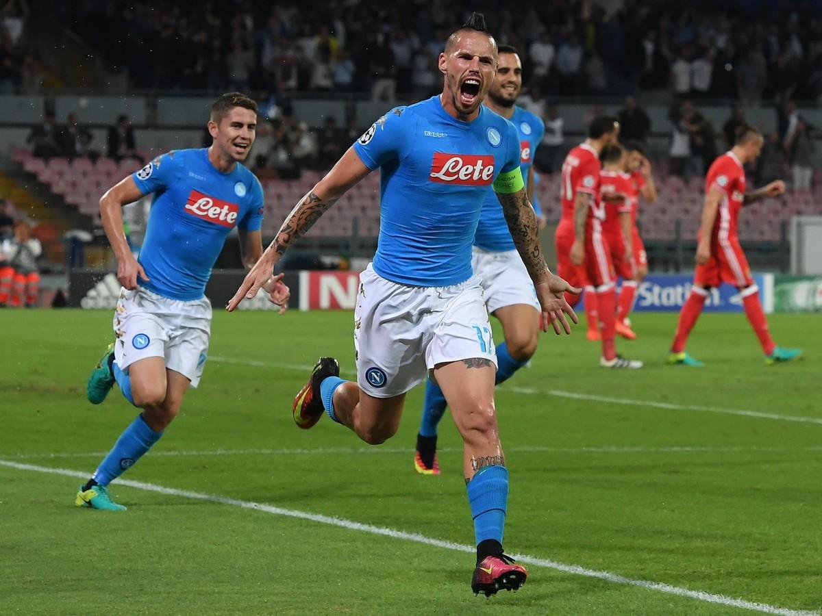 VIDEO Rekordný Hamšík odštartoval kanonádu Neapola, trojica súperov stále bez výhry
