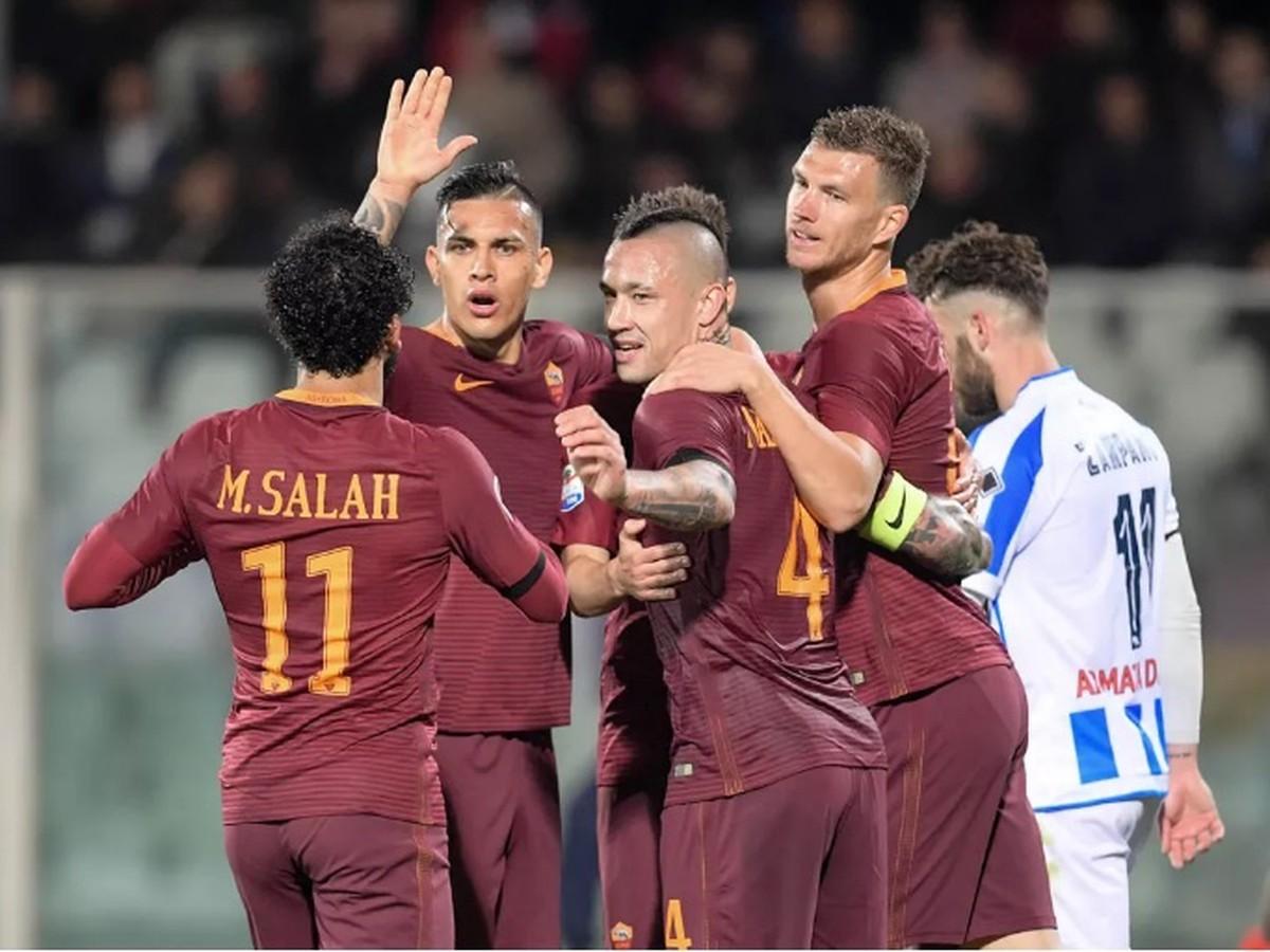 VIDEO Neapol s Hamšíkom to nebude mať jednoduché: AS Rím poslal Pescaru do druhej ligy!