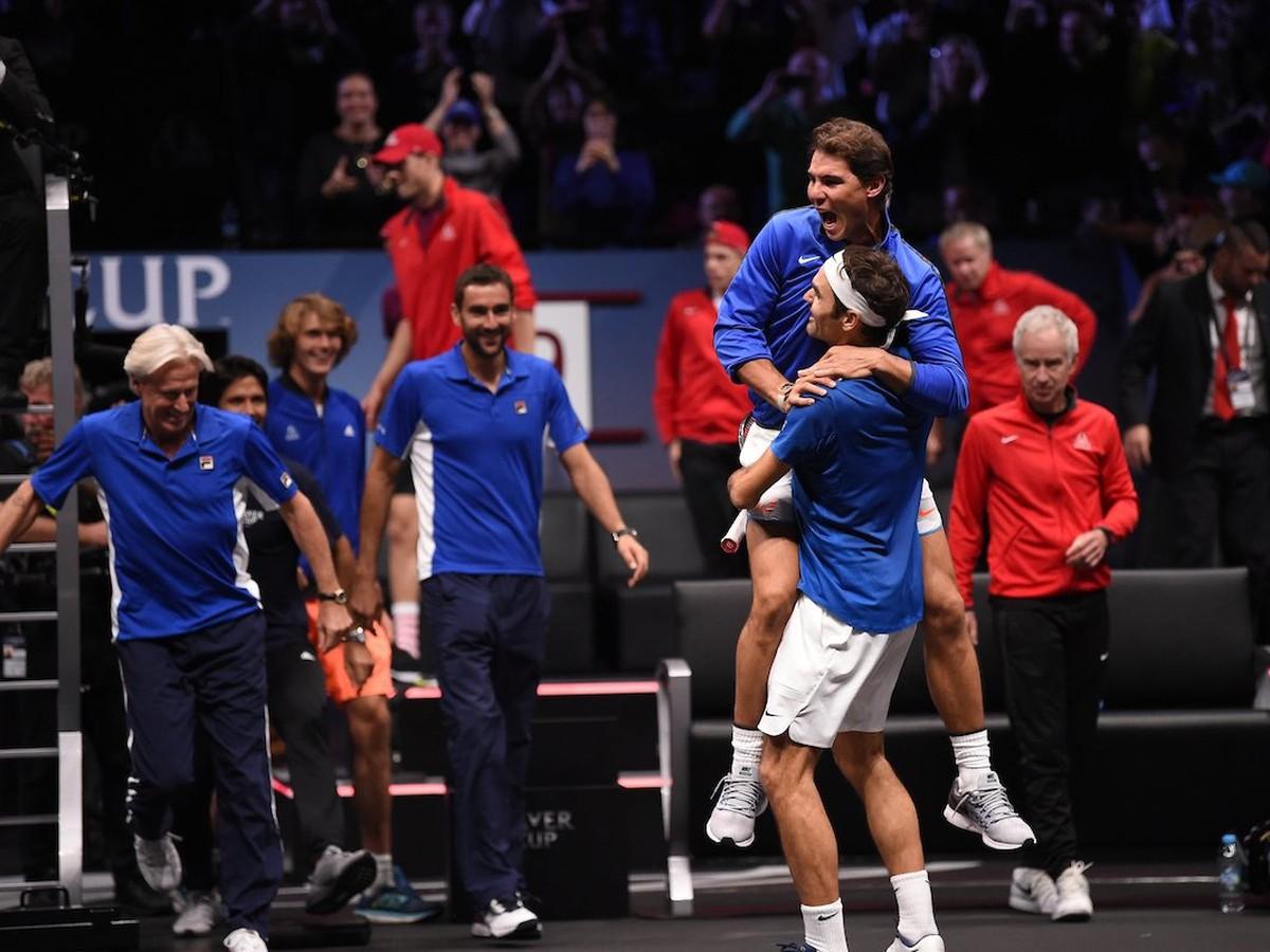 VIDEO Dominancia európskeho výberu na Laver Cupe: Všetko zakončil tenisový kráľ!