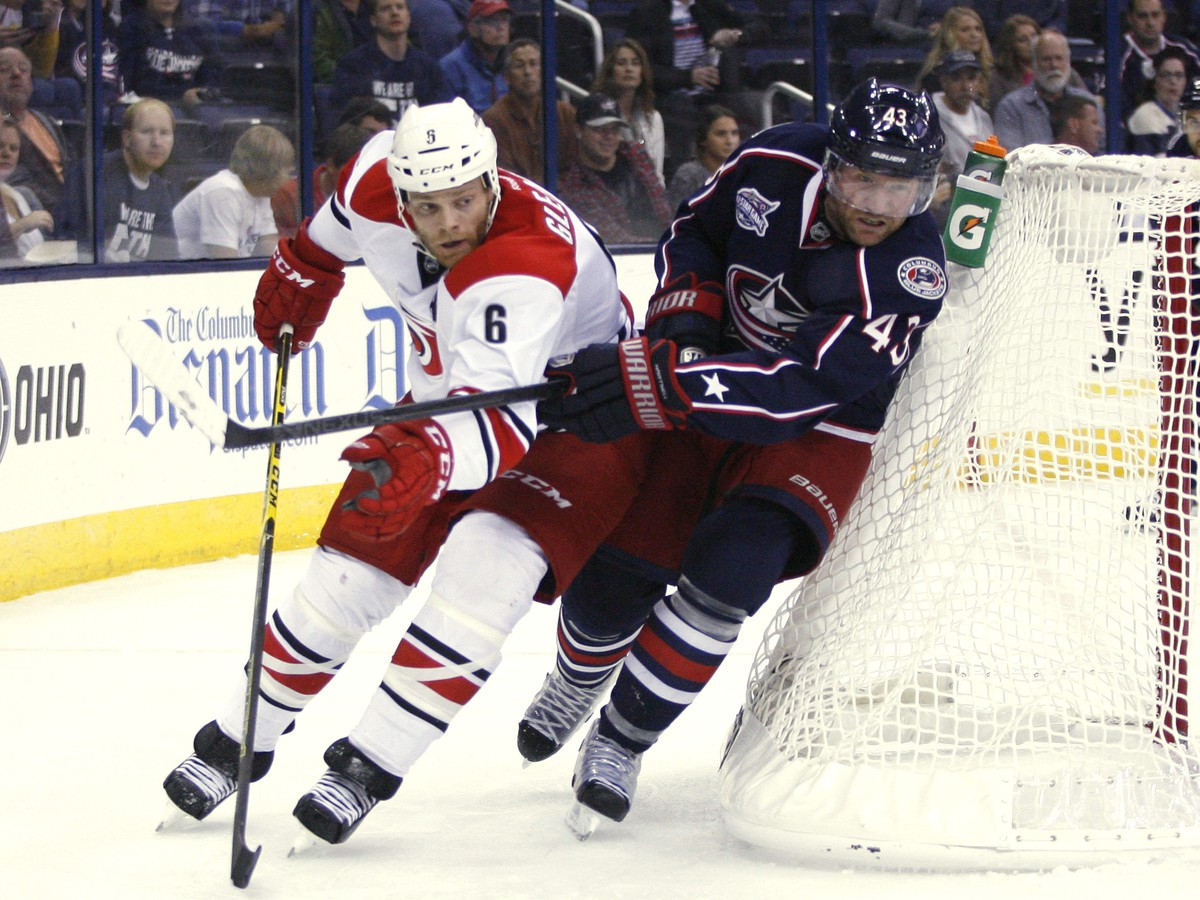 Scott Hartnell a Tim Gleason