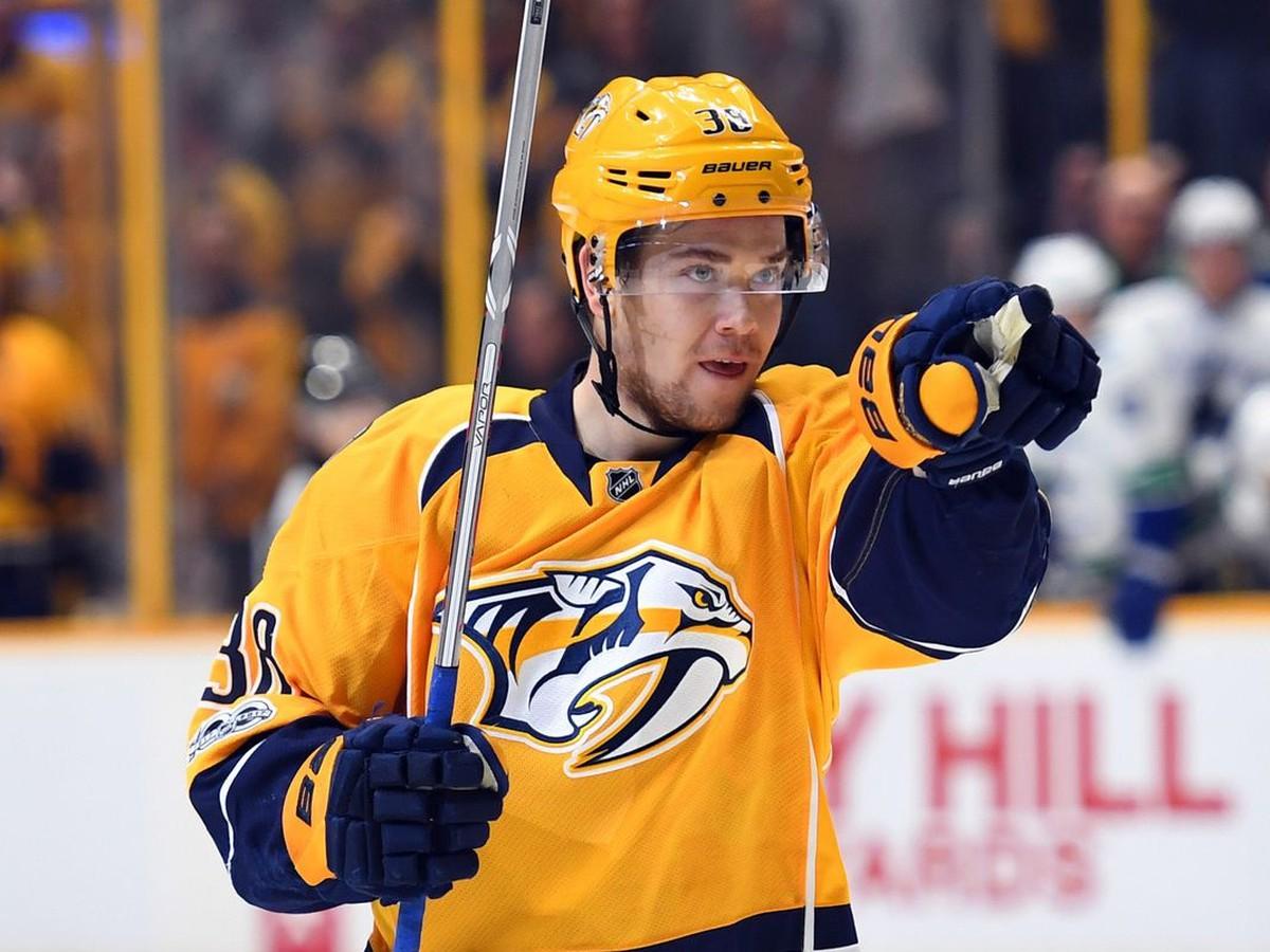 Nashville si poistil svoju švédsku hviezdu: Najproduktívnejší hráč tímu s vylepšeným kontraktom
