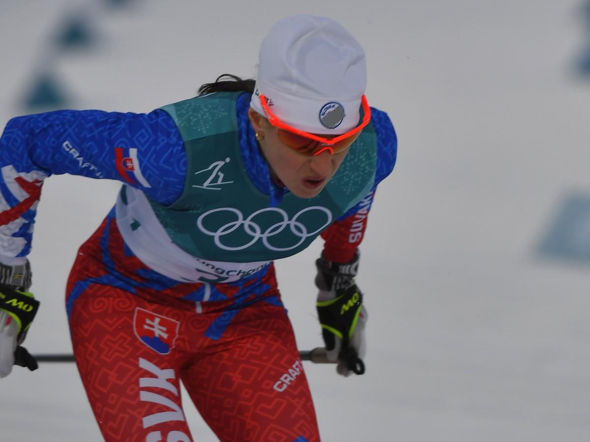 Alena Procházková na trati