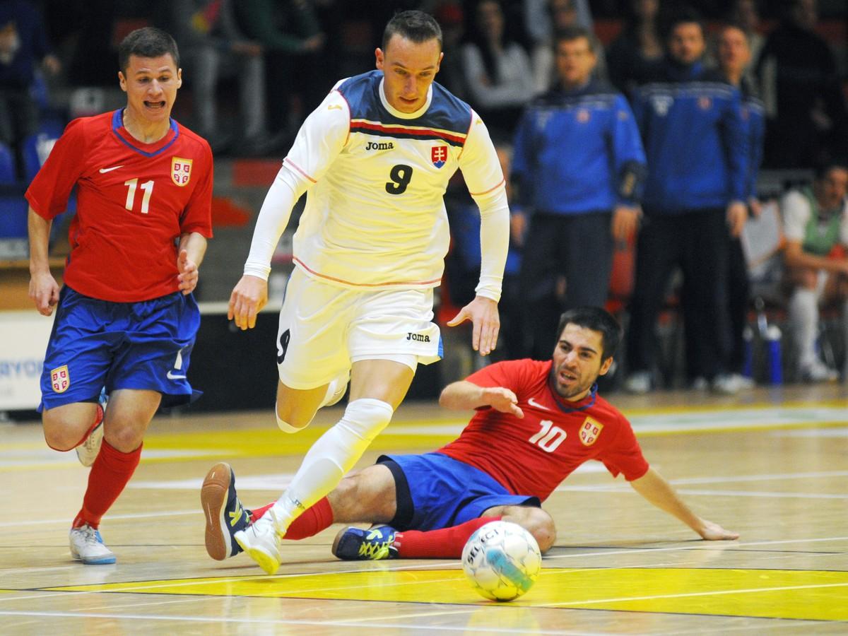 Futsalisti zdolali v príprave Srbsko