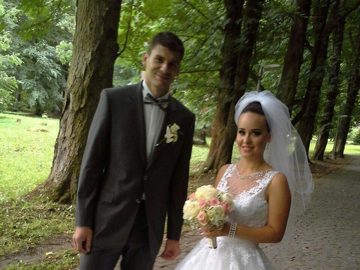 foto svadby ako z rozpr225vky slovensk253 hokejista vst250pil