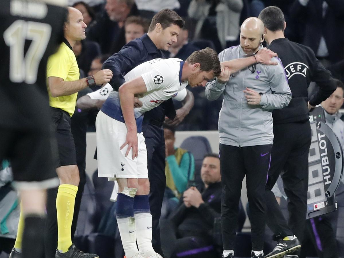 75eef7875 Skvelá správa pre Tottenham: Vertonghen po krvavom zranení môže nastúpiť v  odvete proti Ajaxu   Športky.sk