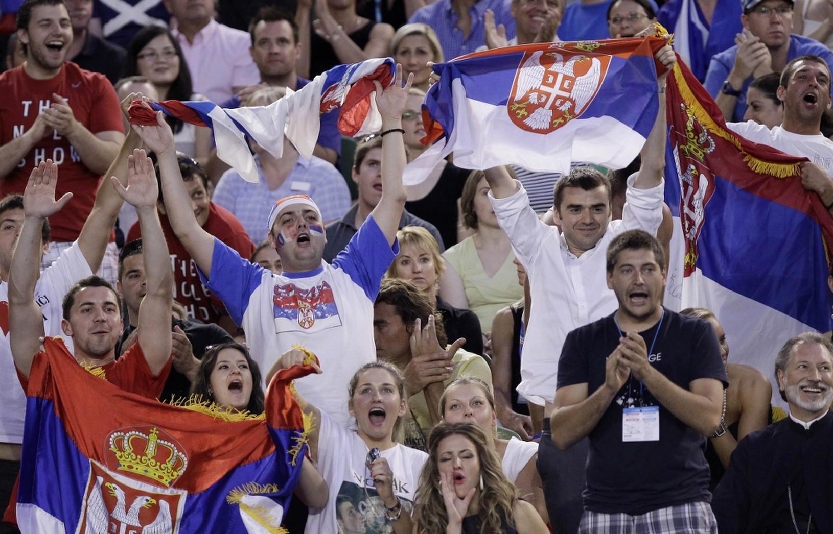 Fanúšikovia Novaka Djokoviča