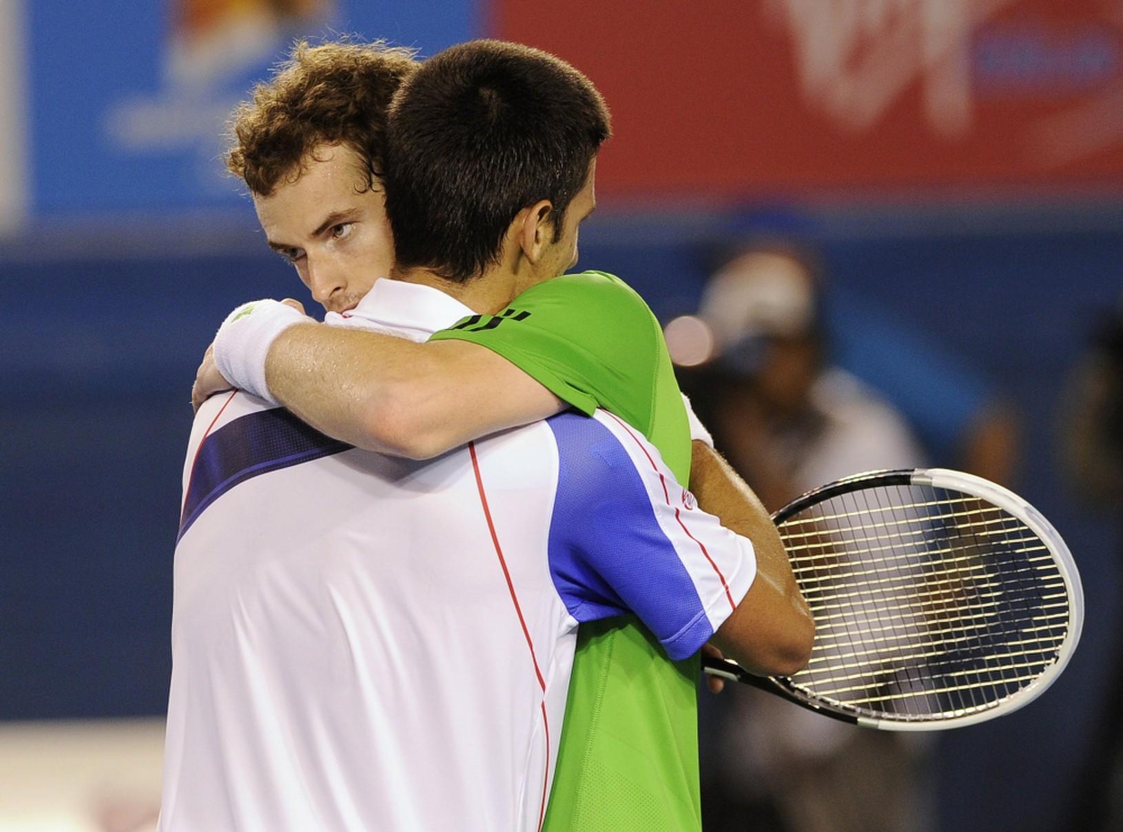 Andy Murray a Novak