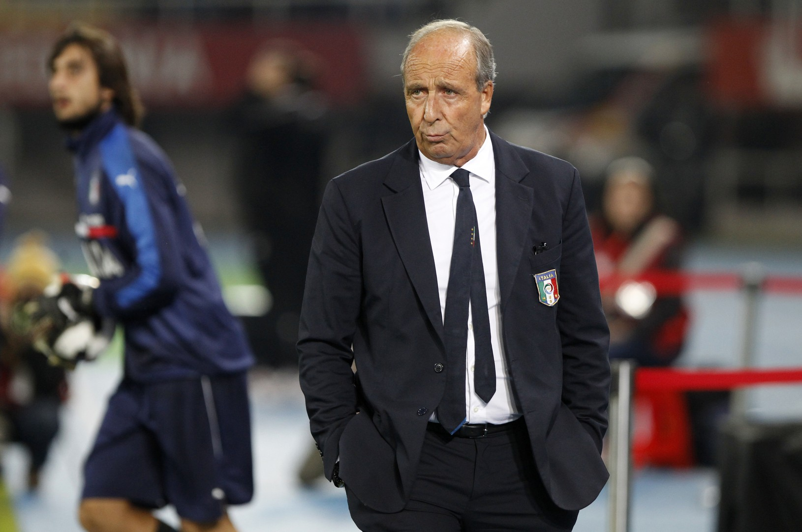 Tréner Talianska Giampiero Ventura