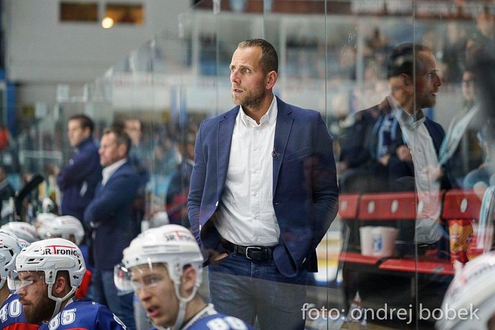 Tréner hokejistov Nitry Andrej