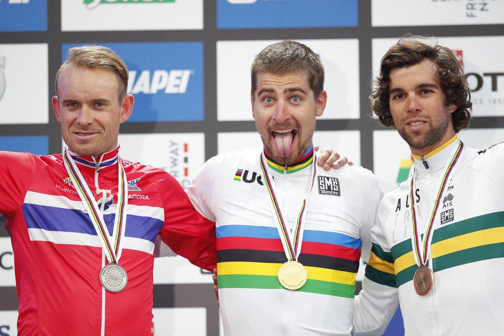 Peter Sagan (v strede)