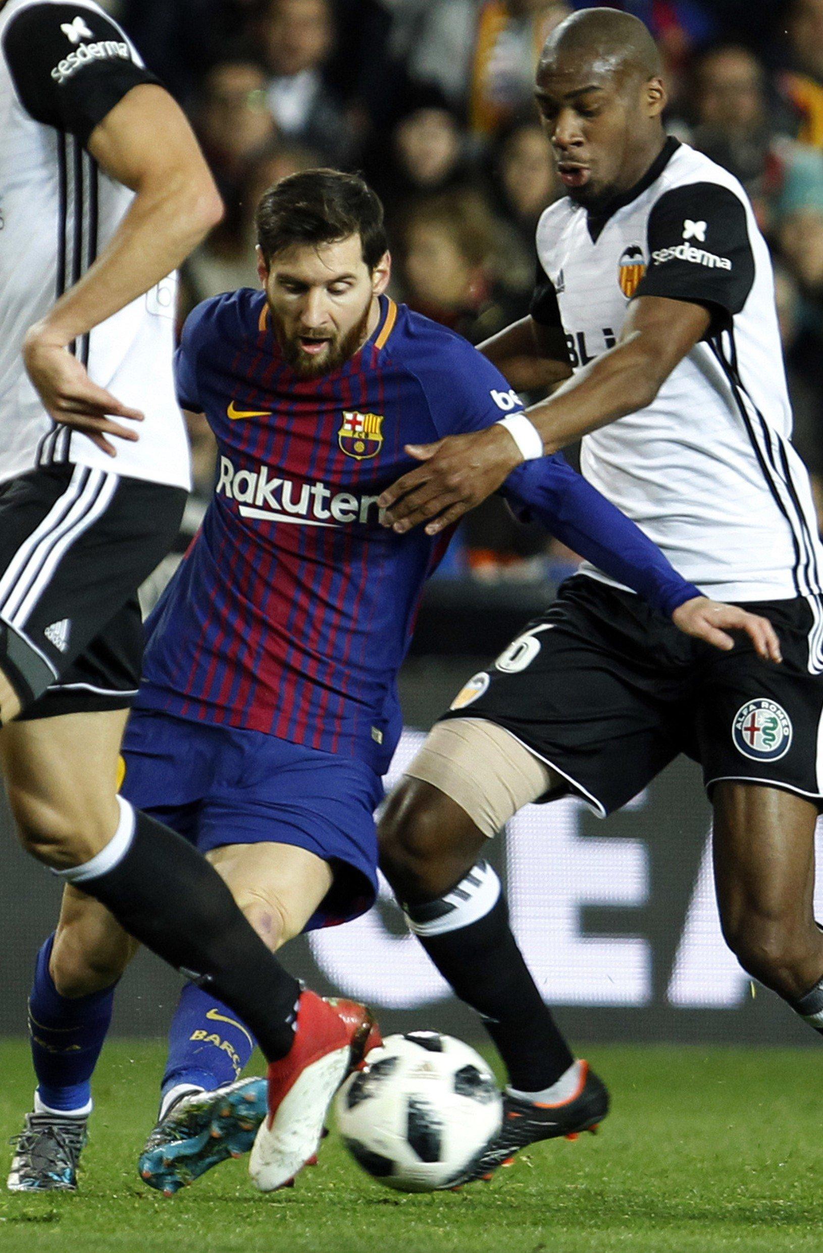 Lionel Messi a Geoffrey