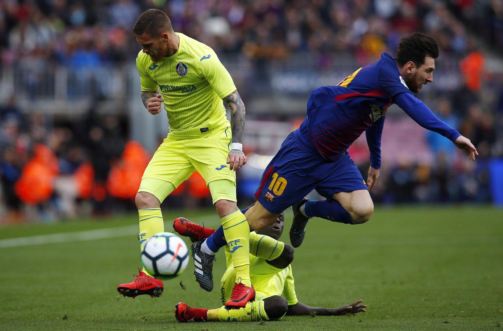 Lionel Messi a Vitorino