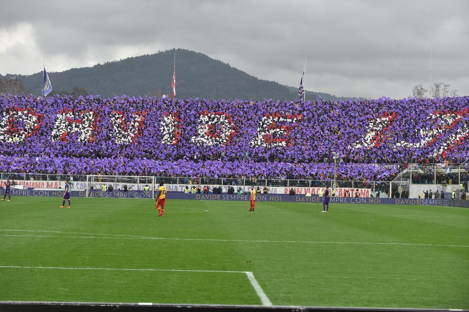 Fiorentina si uctila zosnulého