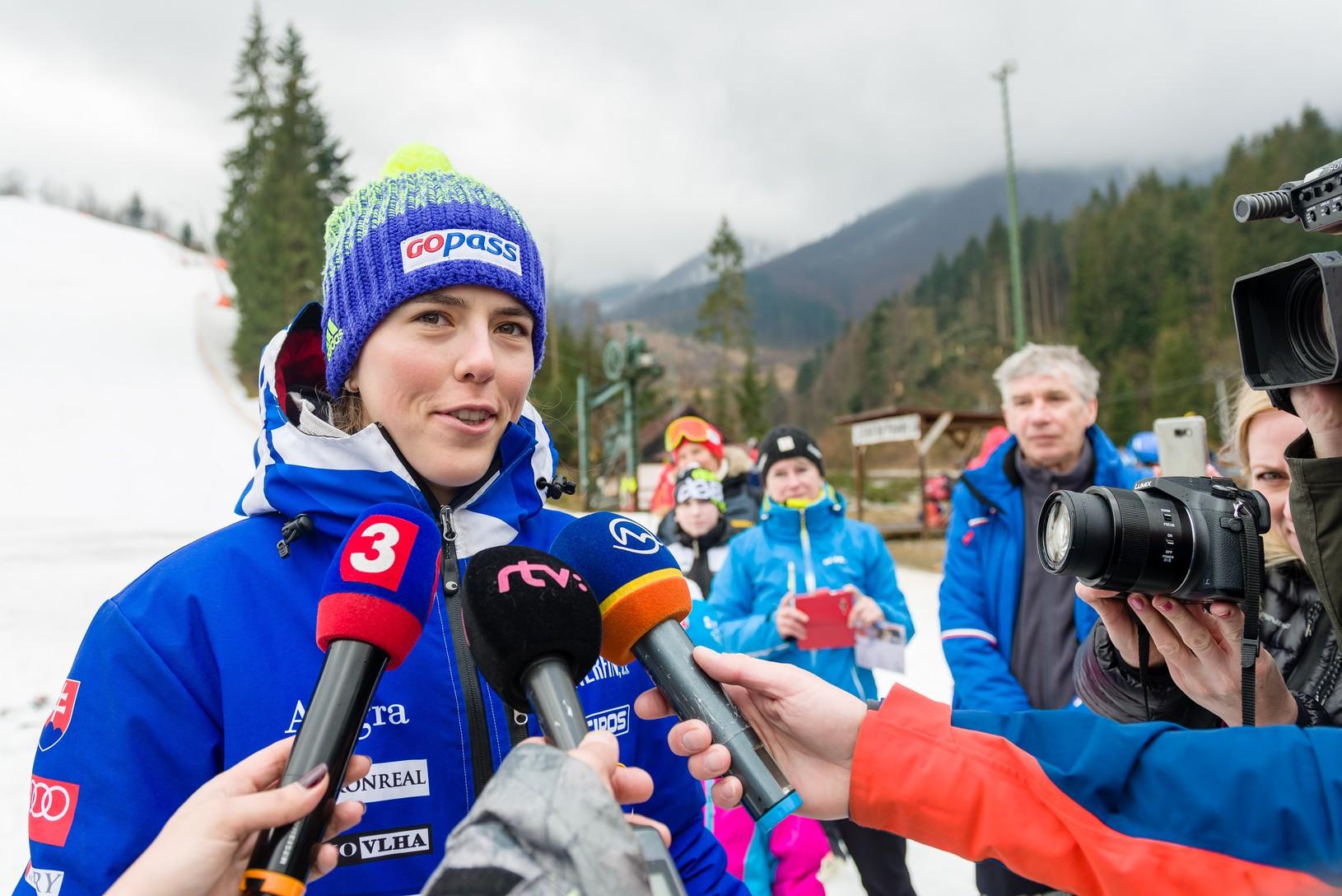 Víťazka v kategórii slalom