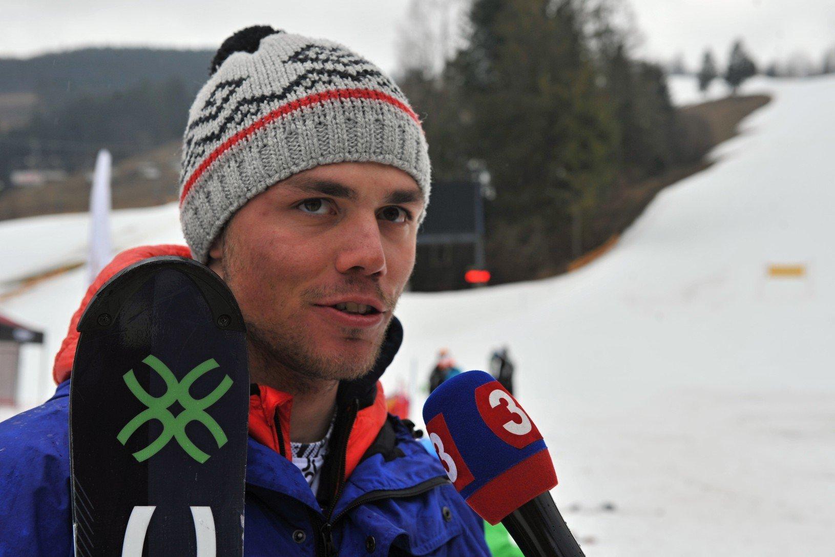 Slovenský lyžiar Matej Falát