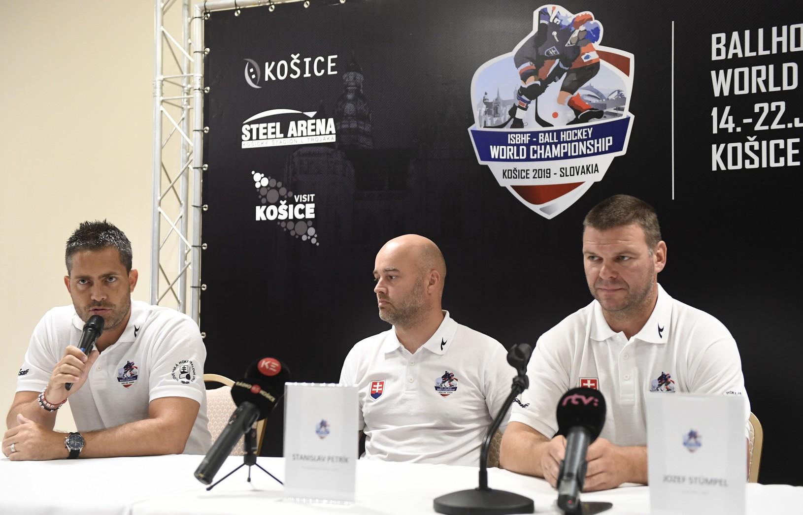 Tlačová konferencia Slovenskej hokejbalovej