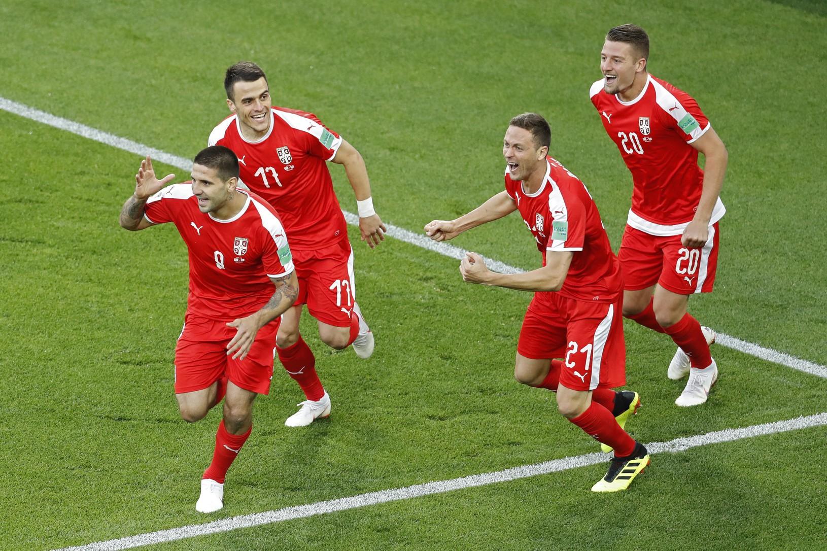 Aleksandar Mitrovič so spoluhráčmi