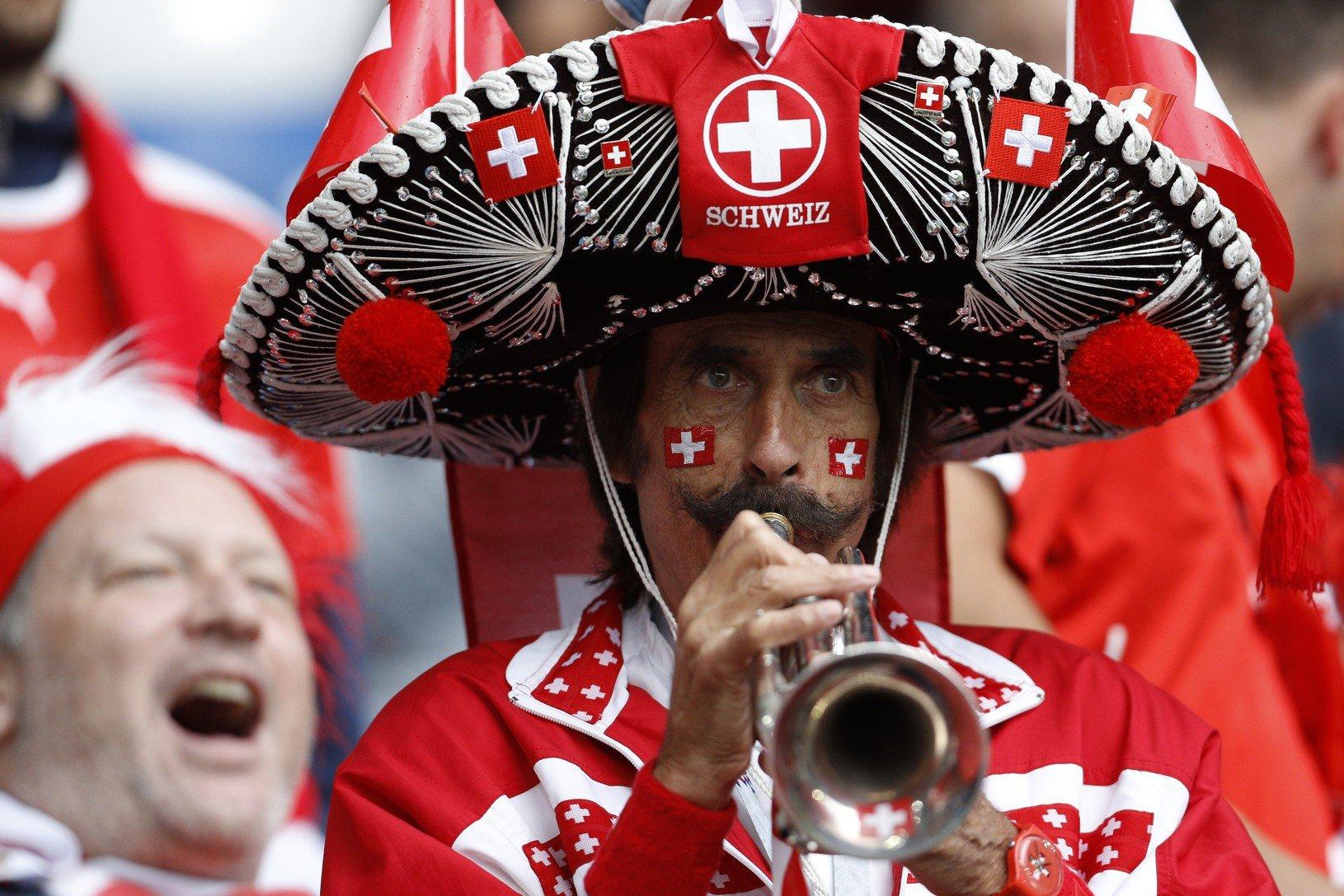 Oddaný fanúšik zo Švajčiarska
