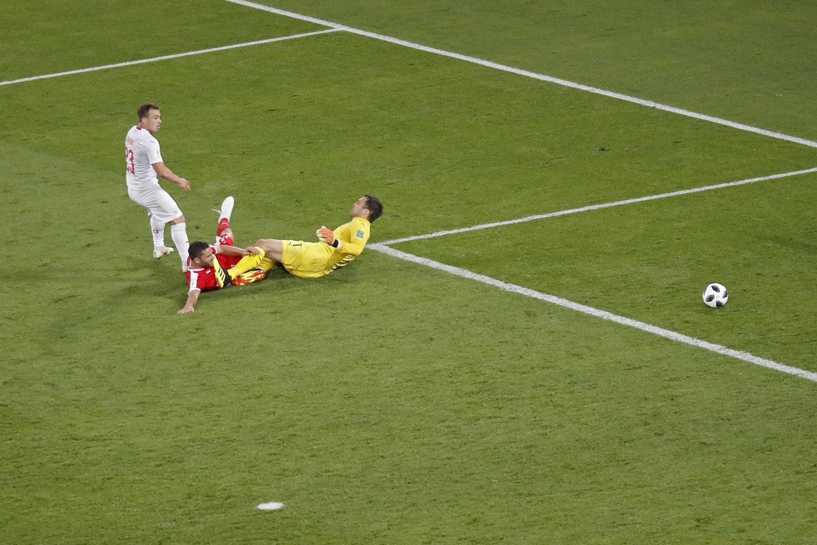 Švajčiarsky víťazný gól s