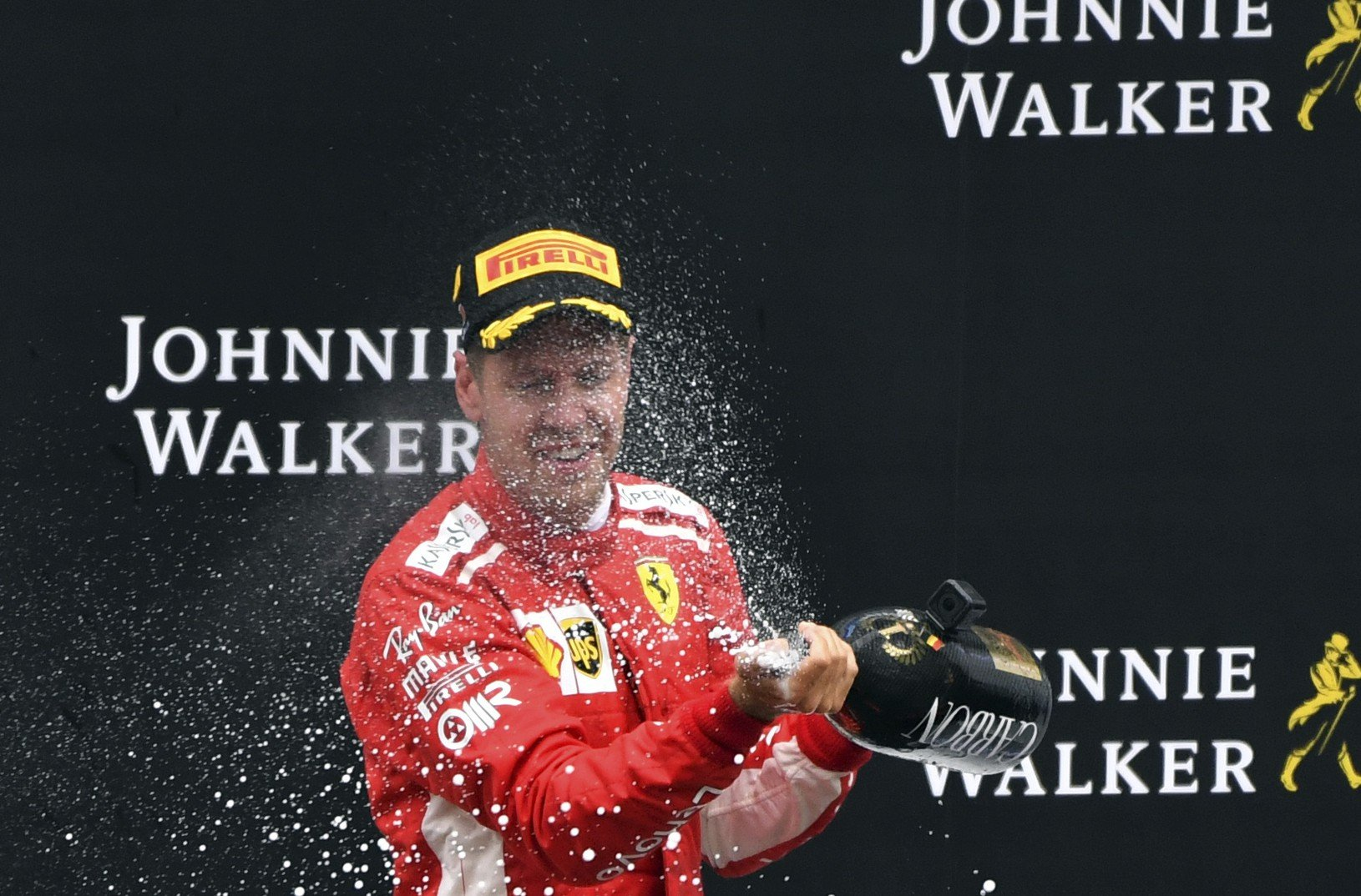 Sebastian Vettel s lahodným