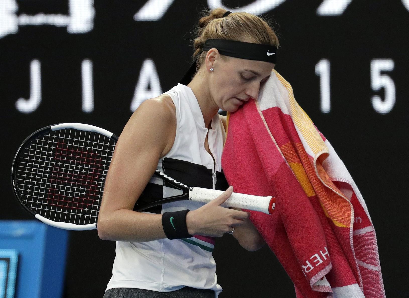 Petra Kvitová vo finále