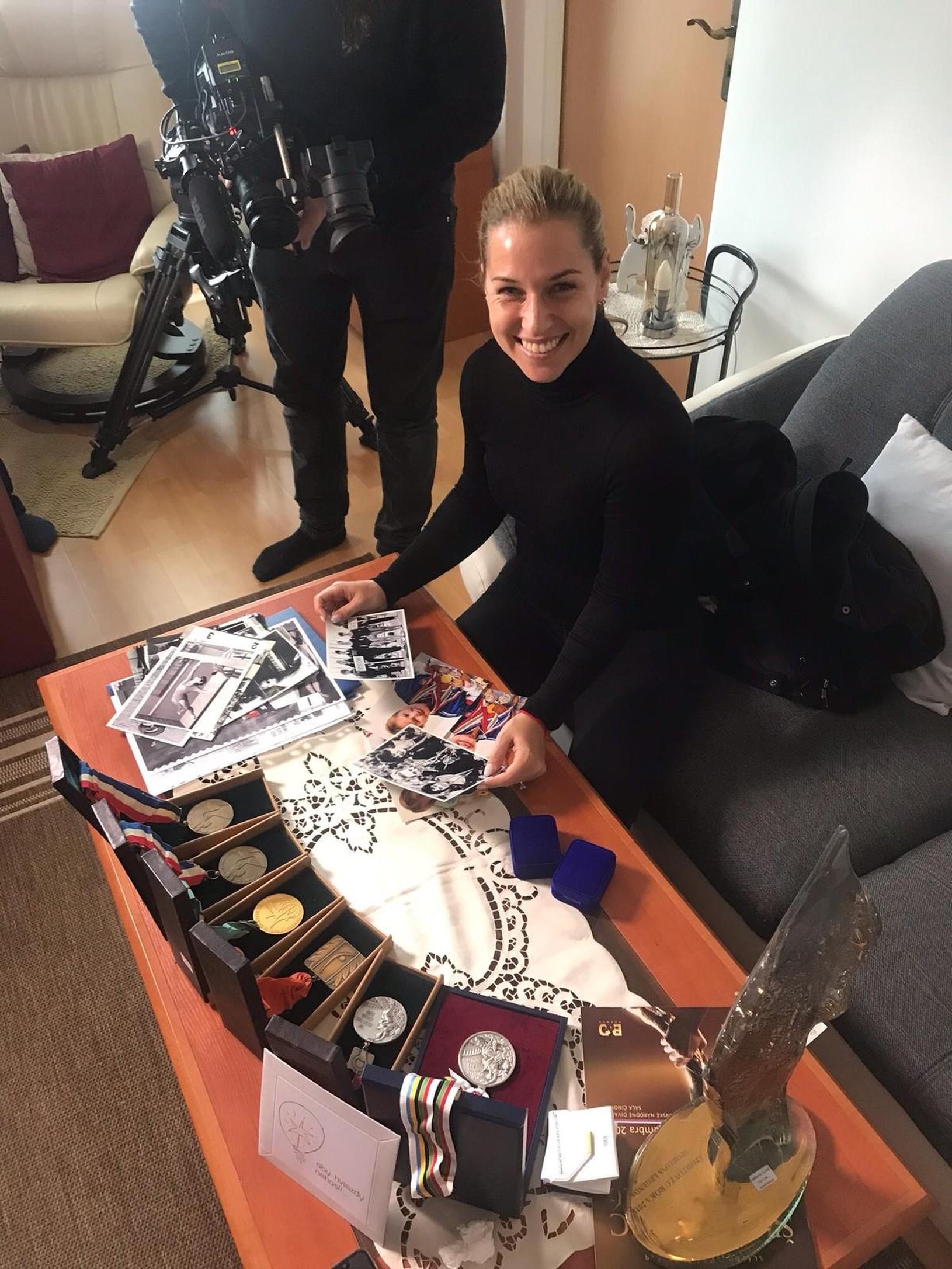 Dominika Cibulková pomáha so