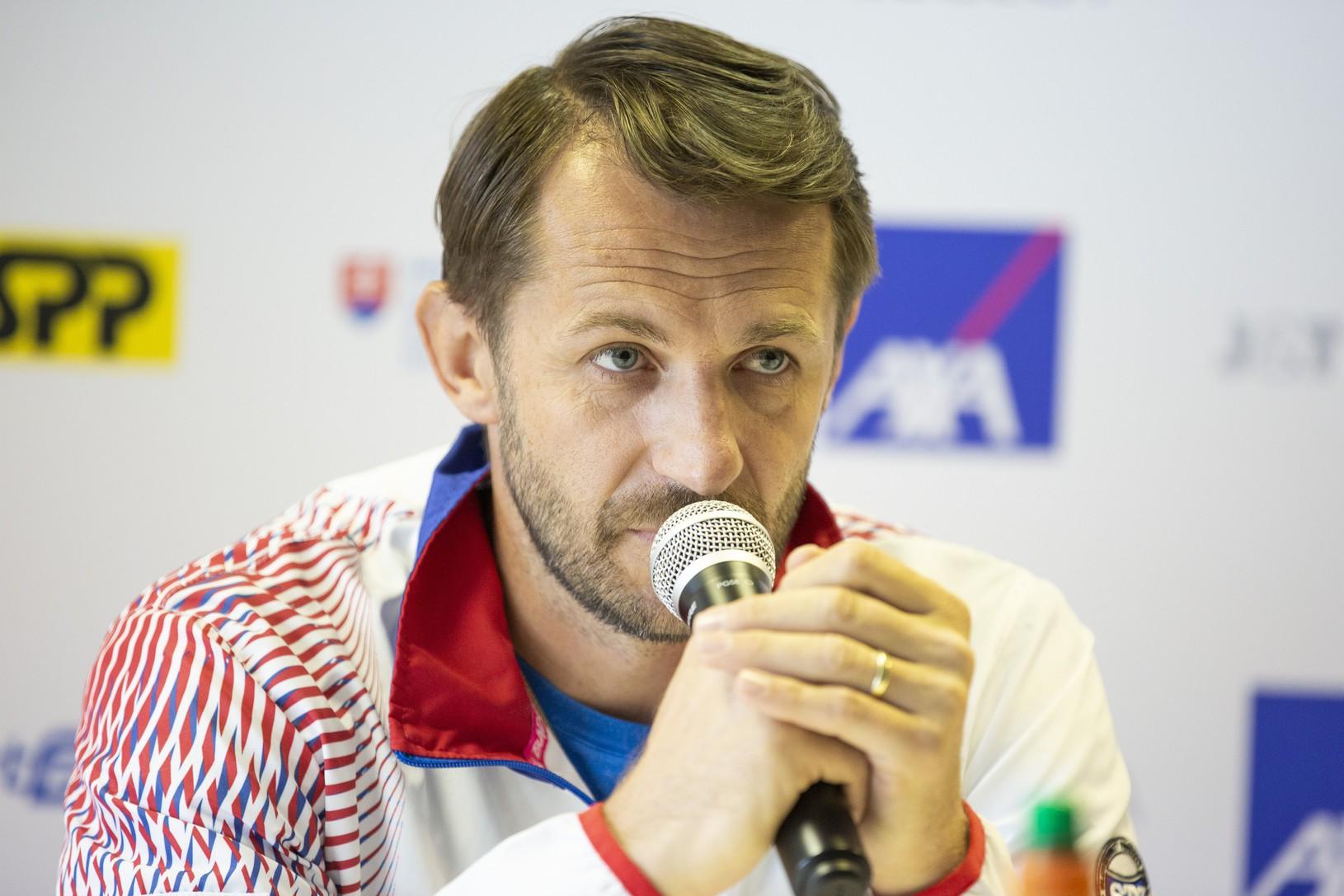 Nehrajúci kapitán tímu Slovenska
