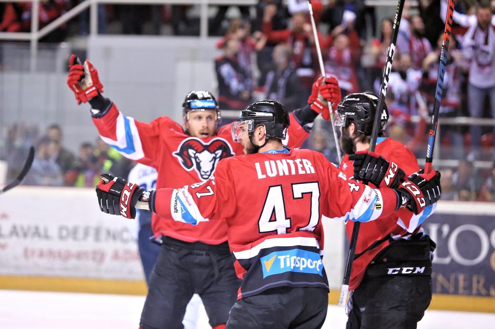 Radosť hráčov HC '05
