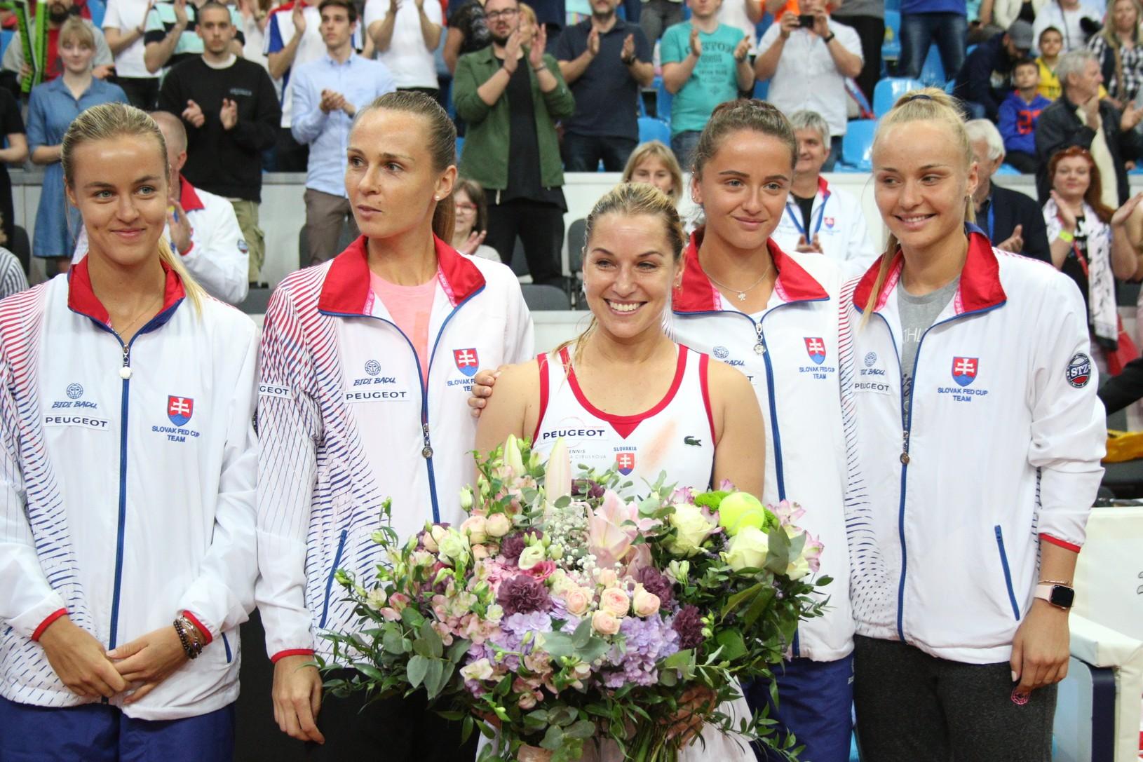Karolína Schmiedlová, Magdaléna Rybáriková,