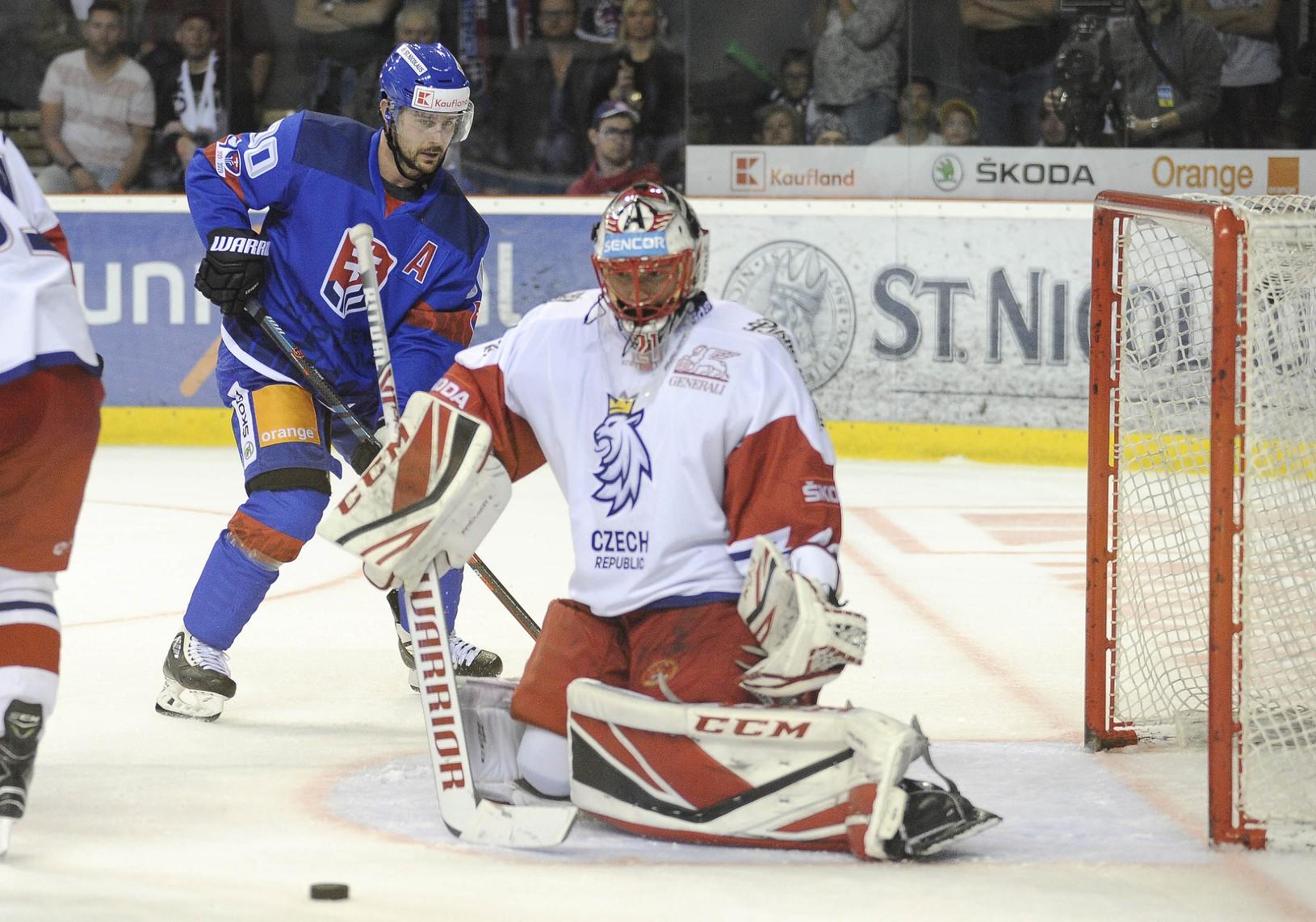 Tomáš Tatar v zápase