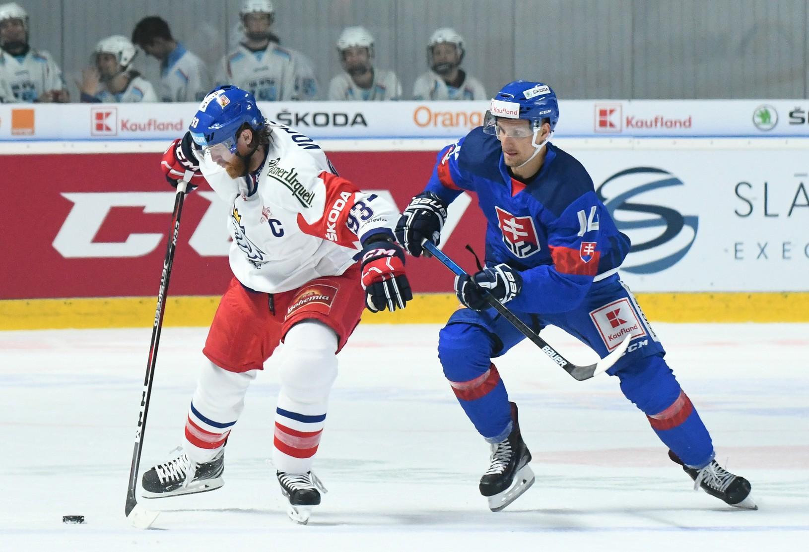 Jakub Voráček a Richard