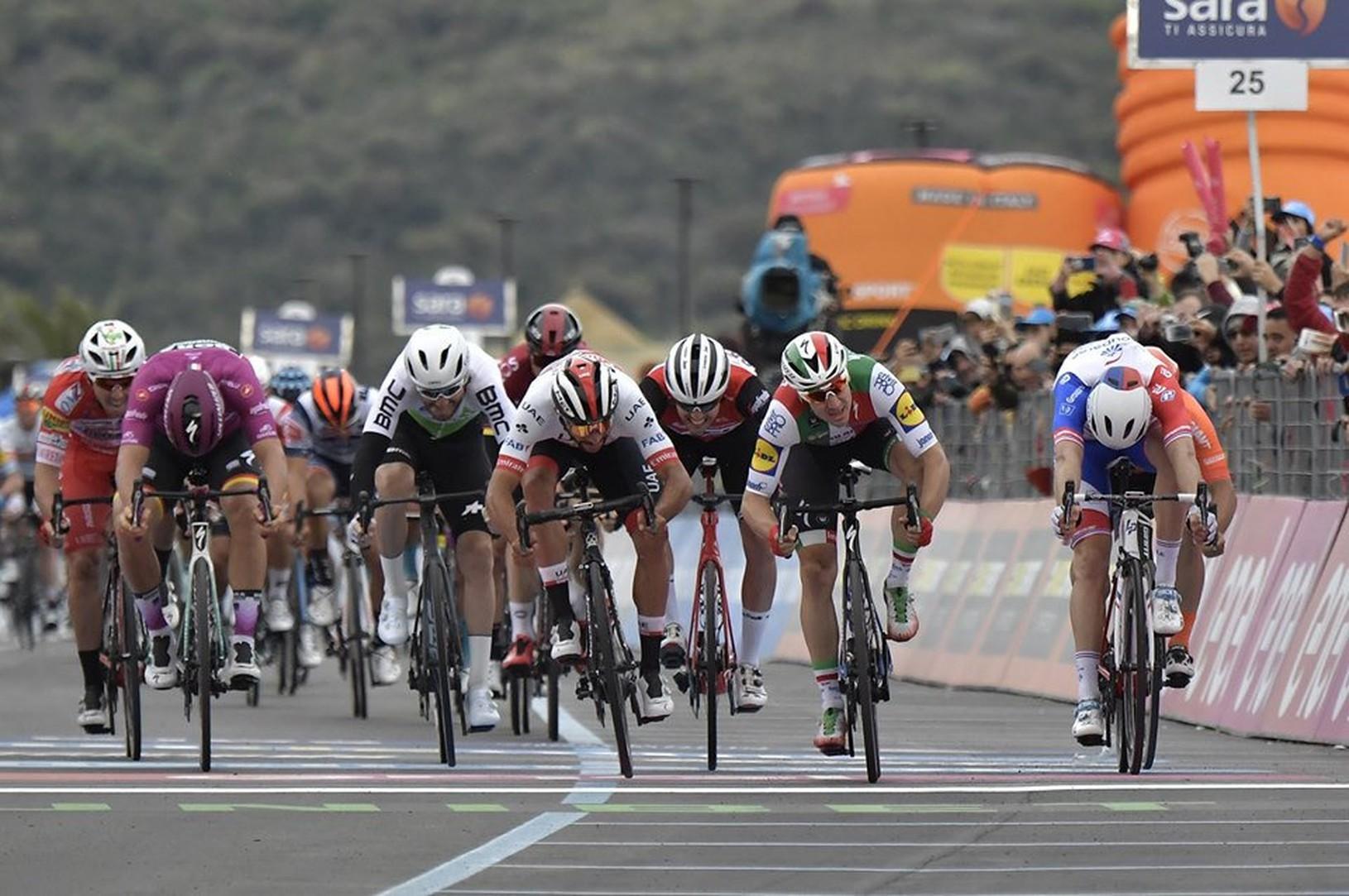 Šprintérsky záver 3. etapy