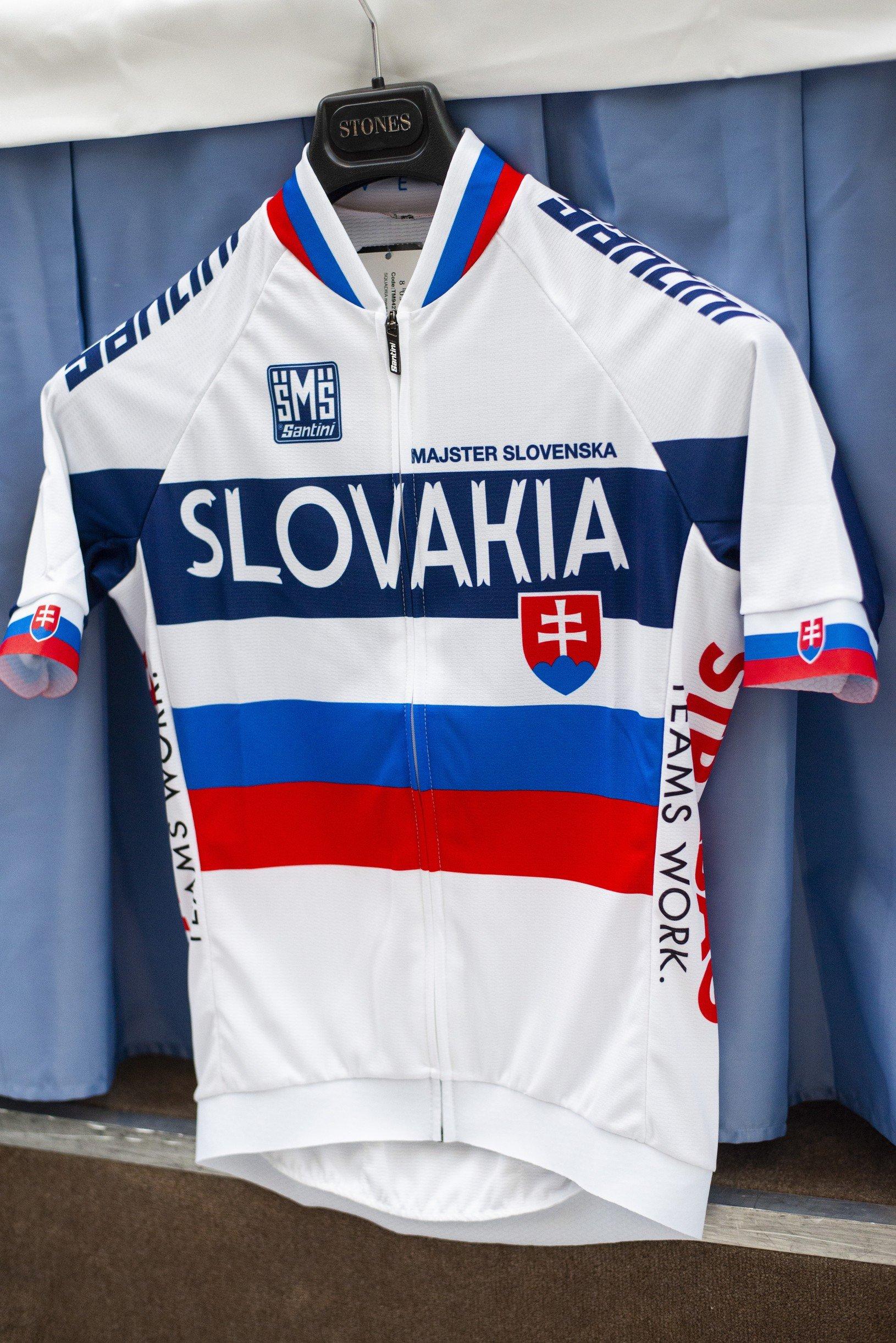 Cyklistický dres Slovensko majster